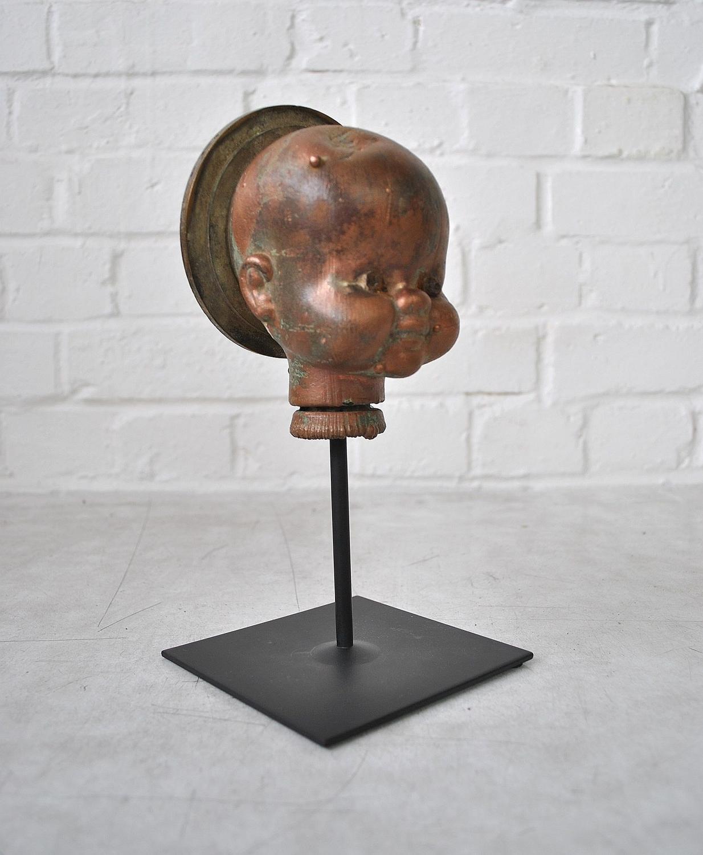 Copper Dolls Head Mould