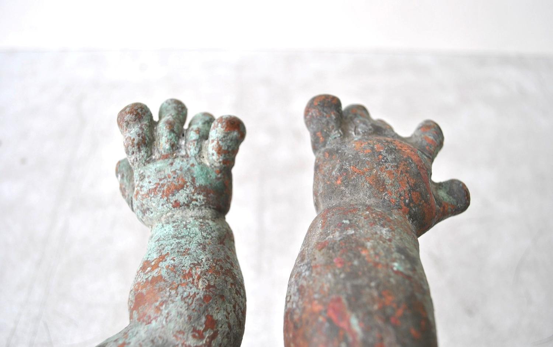 Copper Dolls Arm Moulds