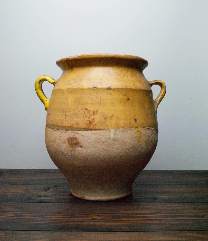 Antique French Confit Pot