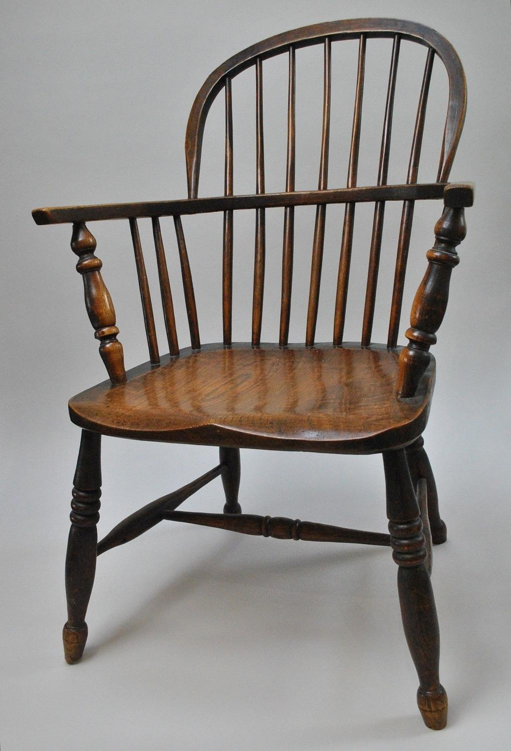 19th Century Stick Back Windsor Chair