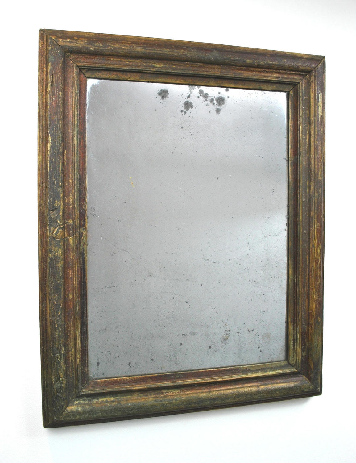 Antique Foxed French Mirror