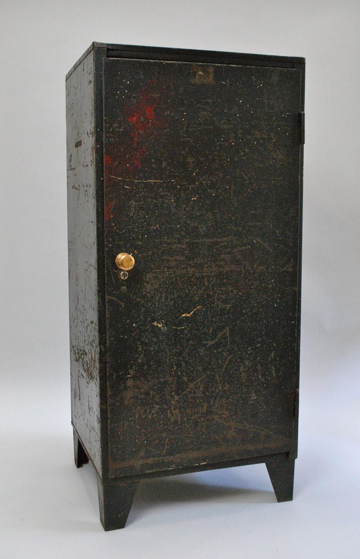 Mid Century Engineering Works Machine Cabinet