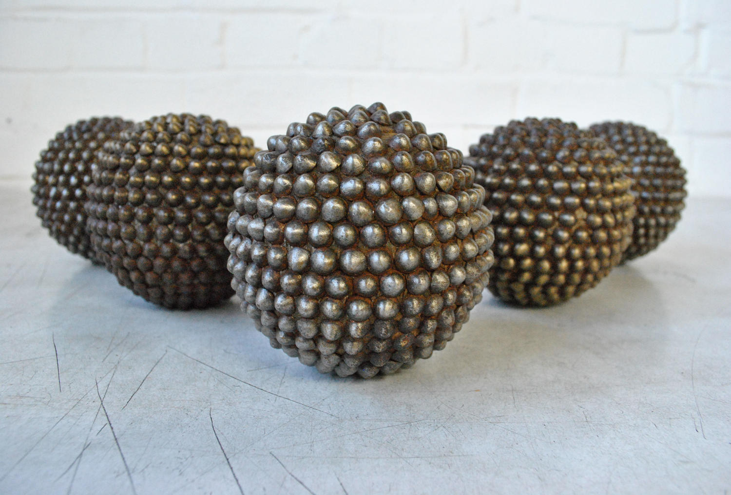 Antique French Armoured Boules