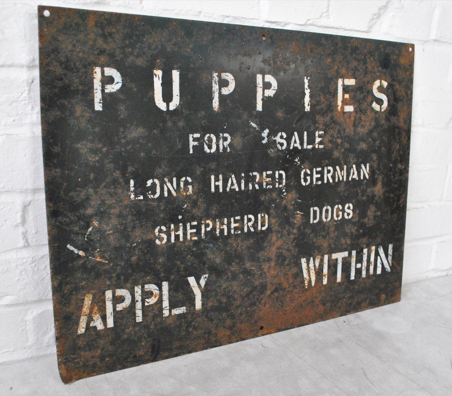 Puppies For Sale Sign