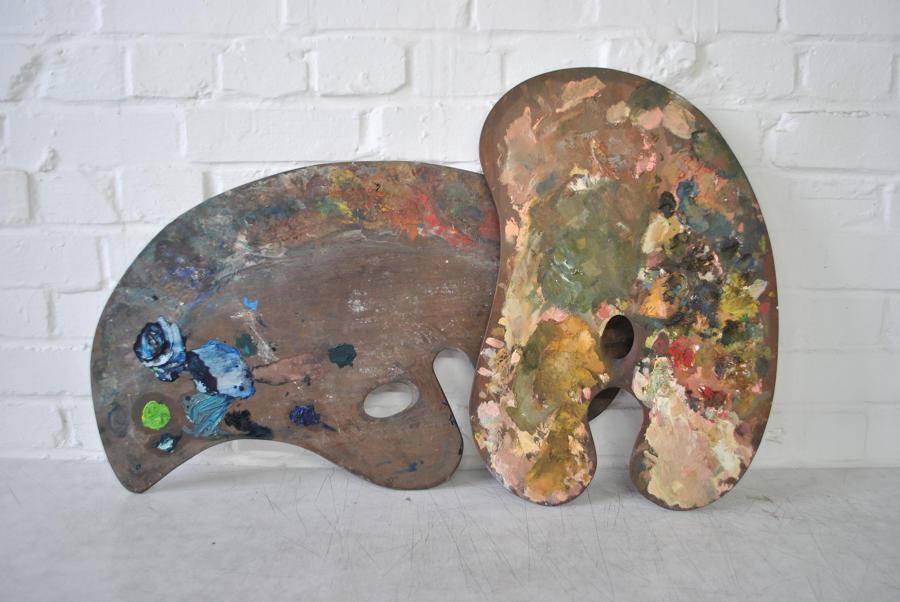 Mahogany Artists Palettes