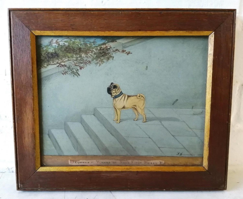 19th Century Pug Portrait