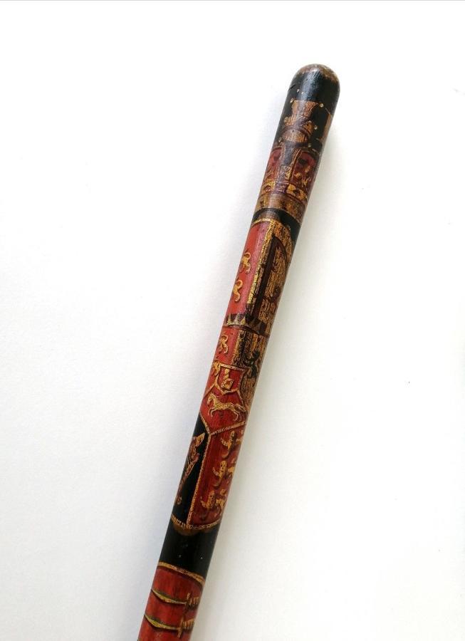 Georgian Painted Tipstaff