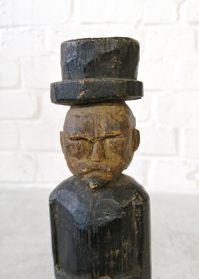 Carved Folk Art Figure