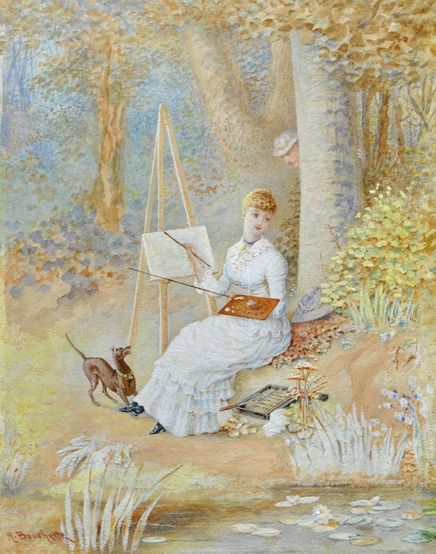 A LADY ARTIST