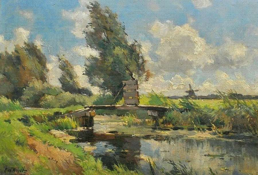 CHRIS VAN DER WINDT (1877 - 1952)